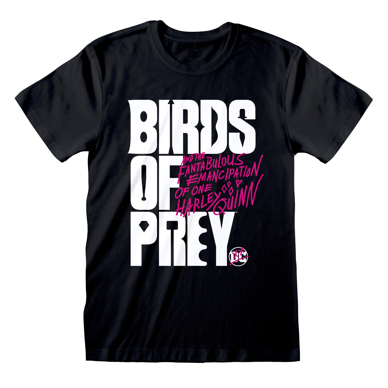 Logo T-shirt (DC - Birds Of Prey - Harley Quinn)