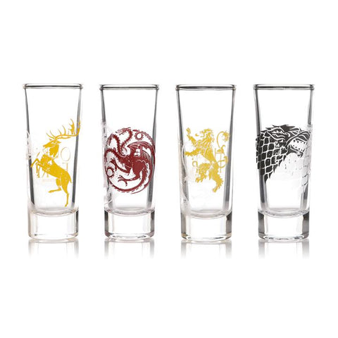 Houses Shot Glass Set (Game Of Thrones)