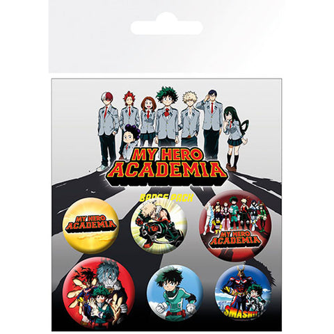 My Hero Academia Badge Pack (Anime)