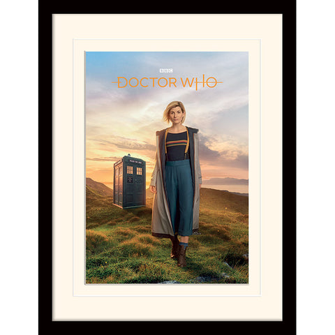 13th Dr Framed Print (Doctor Who)