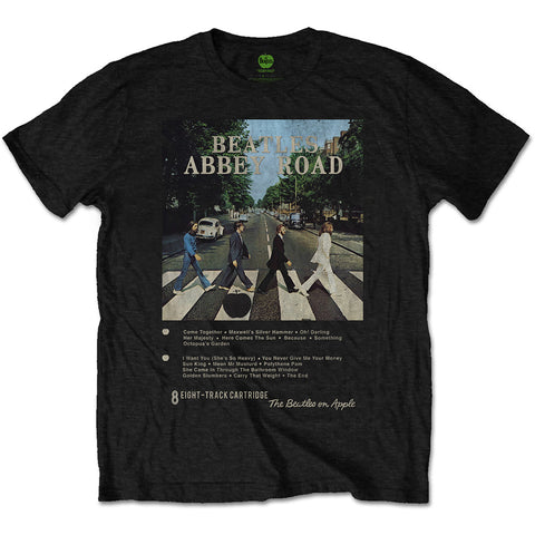 Abbey Road 8 Track T-Shirt (Beatles - Music)