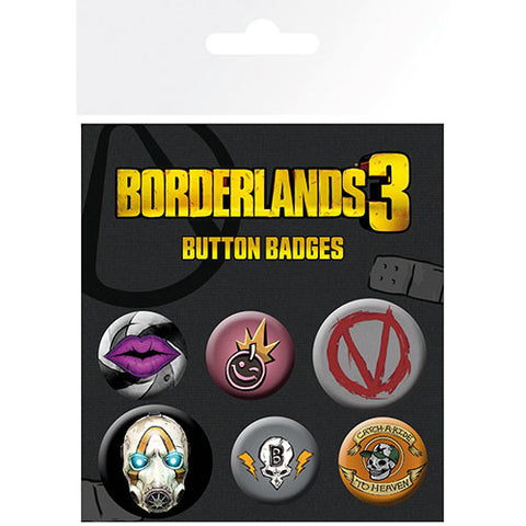 Borderlands 3 Badge Pack (Gaming)