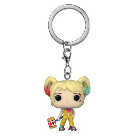 Harley Quinn Boobytrap Battle Pocket Pop Keyring (Birds of Prey - DC)