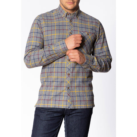 Quarry Flannel Shirt - Merc