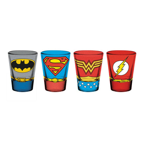Costumes Shotglass (DC)