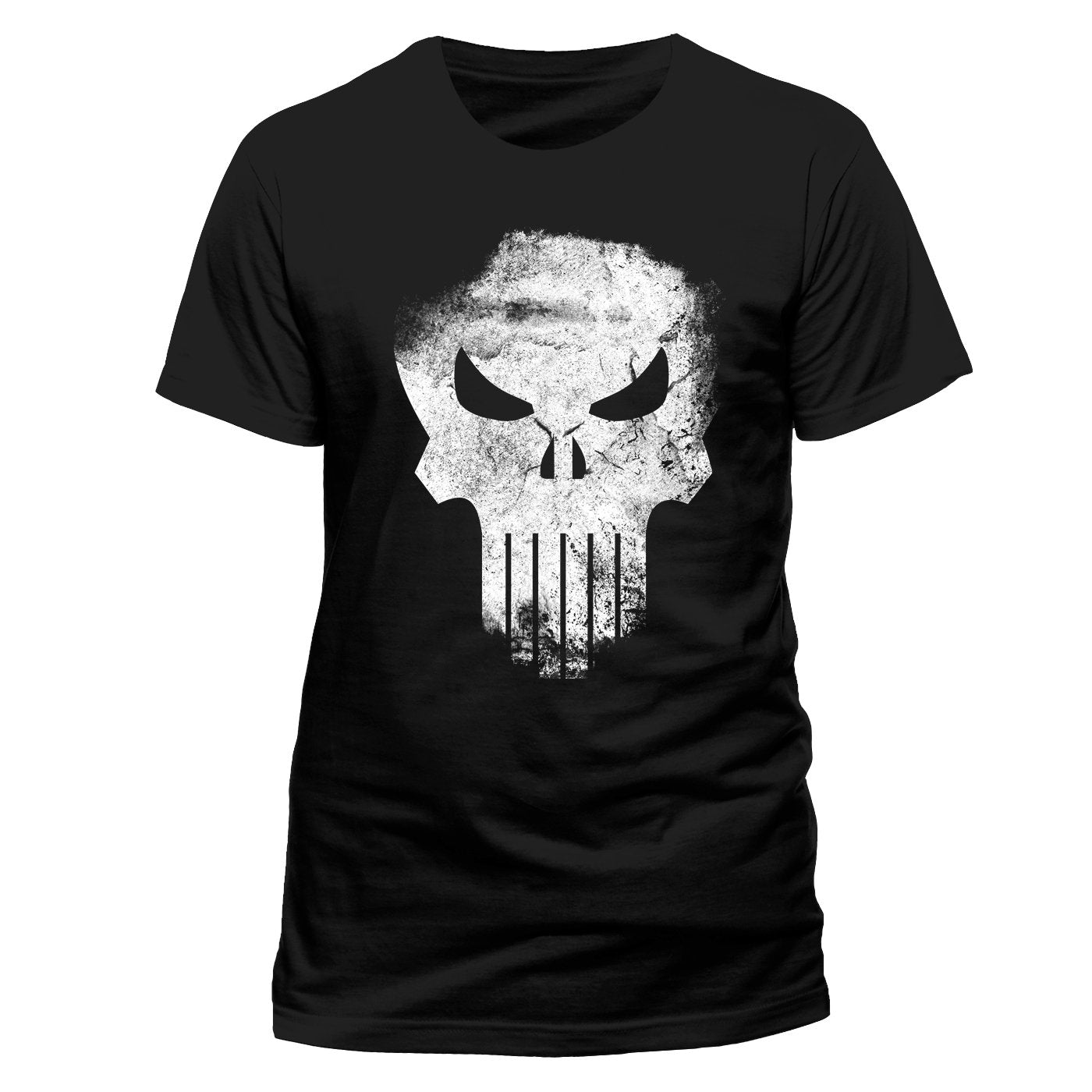 Distressed Skull T-shirt (The Punisher - Marvel)