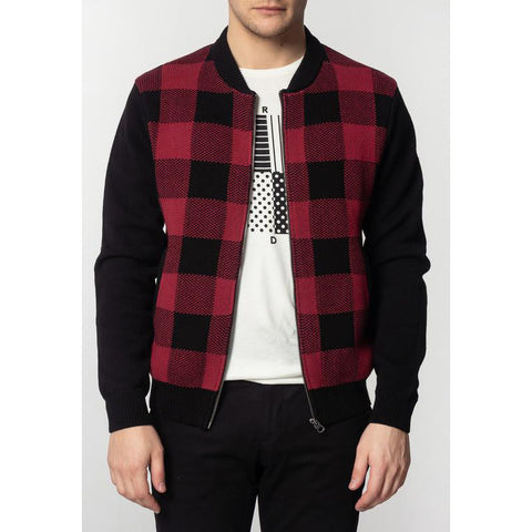 Apollo Check Jacket - Merc