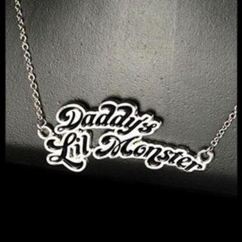 Daddys Lil Monster Necklace (DC - Harley Quinn - Suicide Squad)