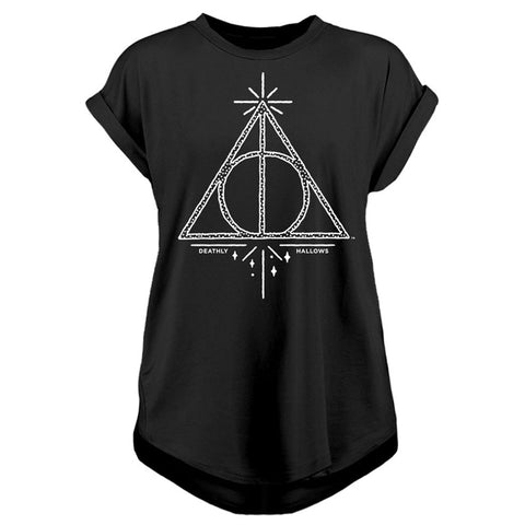 Deathly Hallows Ladies T-Shirt (Harry Potter)