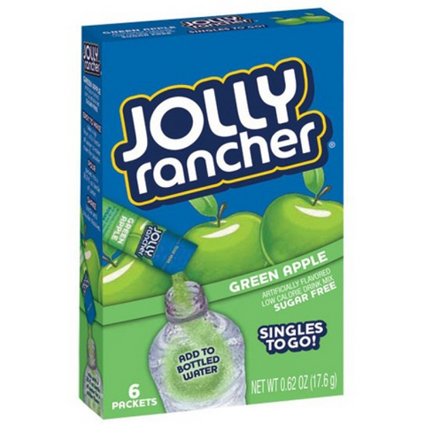 Jolly Rancher Singles 2 Go Green Apple