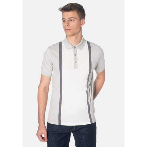 Atlas Light Grey Polo - Merc