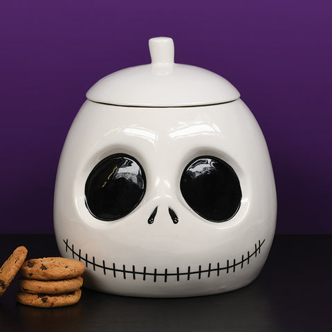 Jack Skeleton Head Cookie Jar (Disney - Nightmare Before Christmas)