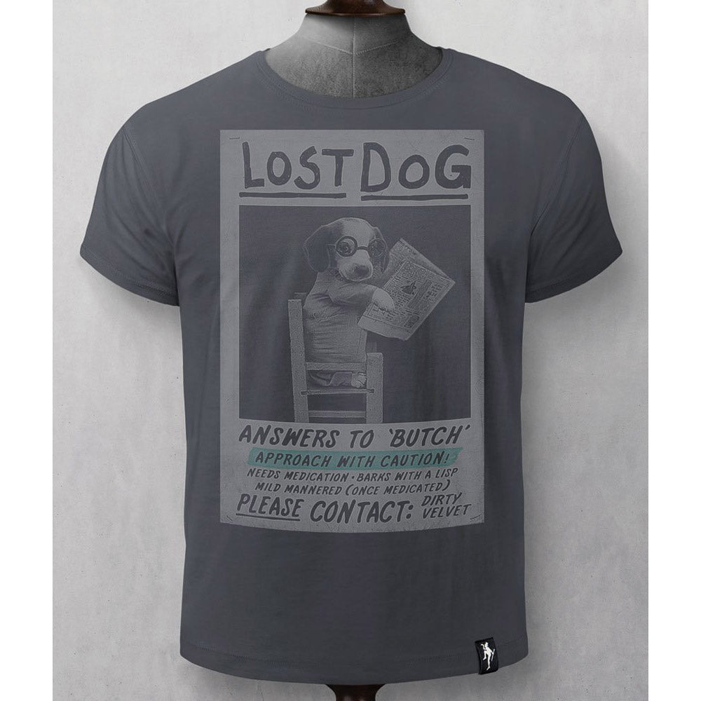 Lost Dog T-shirt ~ Dirty Velvet