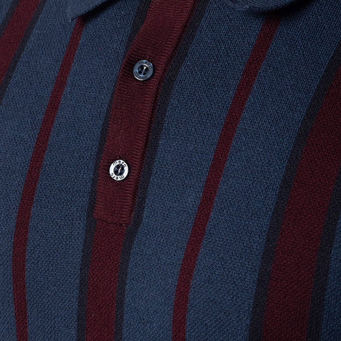 Marmot Knit Polo Dark Blue - Merc