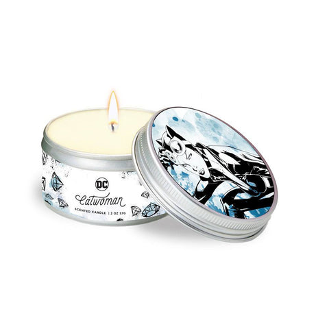 Cat Woman Tinned Candle (DC)