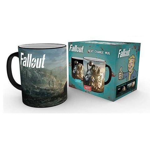 Power Armer Heat Changing Mug (Fallout - Gaming)