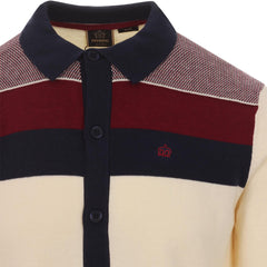 Keble Knit Polo Cream - Merc