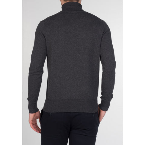 Wapping Roll Neck Jumper - Merc