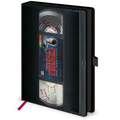 VHS Notebook (Stranger Things)