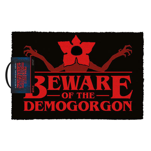 Beware of the Demogorgon Doormat (Stranger Things)
