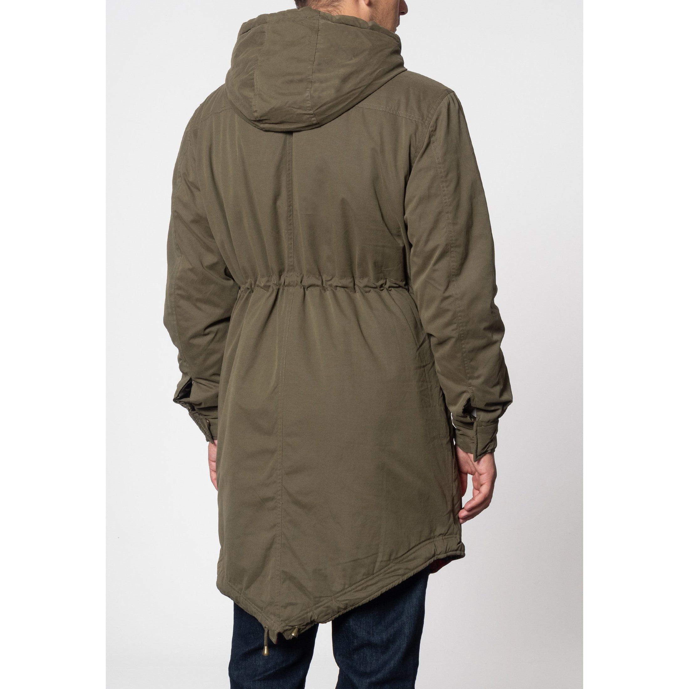 Tobias Fishtail Parka Coat Jacket - Merc