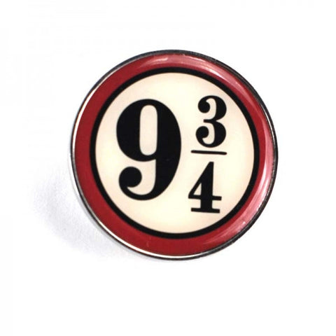 Platform 9 3/4 Enamel Badge (Harry Potter)