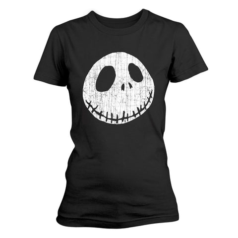 Cracked Ladies T-Shirt (The Nightmare Before Christmas)