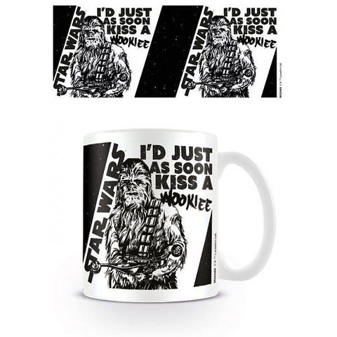 Kiss The Wookie Mug (Star Wars)