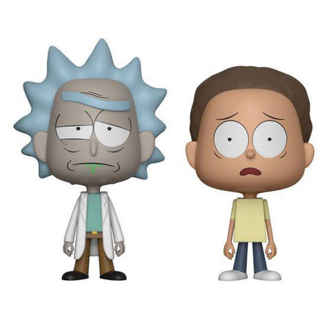 Rick and Morty VYNL Vinyl Figures 2-Pack (Rick & Morty - Collectible)