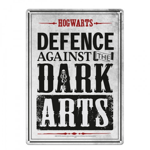 Dark Arts Small Tin Sign (Harry Potter)
