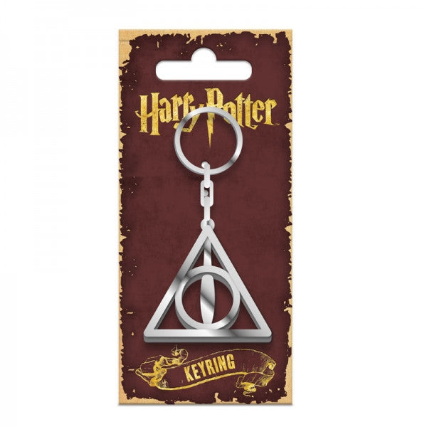 Deathly Hallows Metal Keyring (Harry Potter)