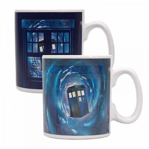 Tardis Heat Changing Mug (Dr Who)