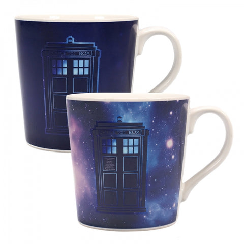 Galaxy Heat Changing Mug (Dr Who)