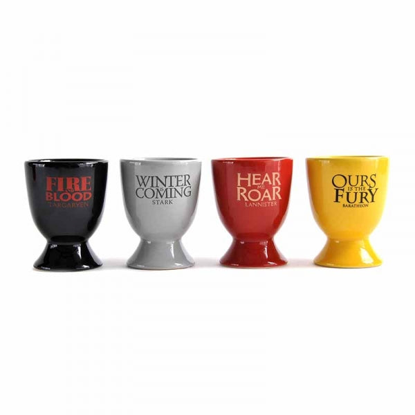 Game Of Thrones Egg Cup Set