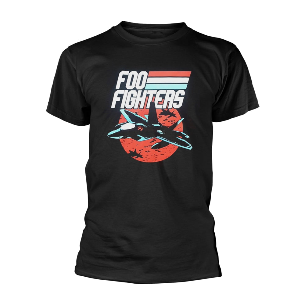 Jets Black T-shirt (Foo Fighters - Music)