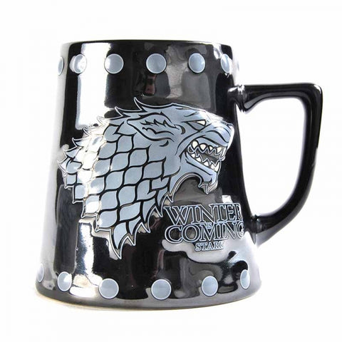 Stark Stud Relief Tankard Mug (Game Of Thrones)