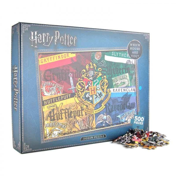 Houses 500 Piece Jigsaw (Harry Potter)