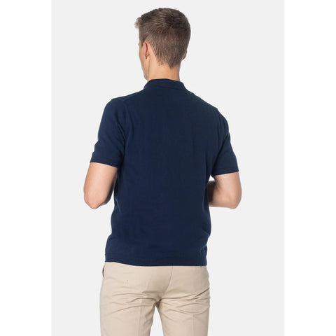 Luna Knit Polo - Merc