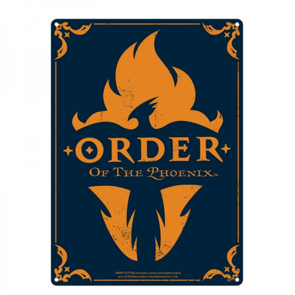 Order Of The Phoenix Large Tin Sign (Harry Potter)