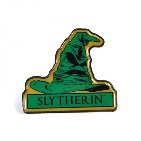 Slytherin Sorting Hat Enamel Badge (Harry Potter)