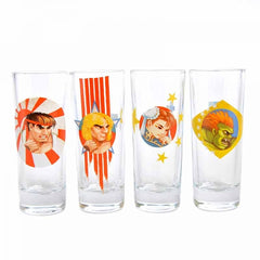 Capcom Shot Glass Set (Street Fighter - Gaming)