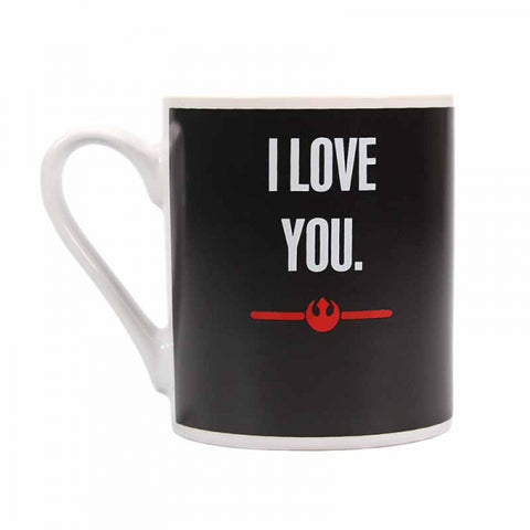 I Love You I Know Heat Changing Mug (Star Wars)