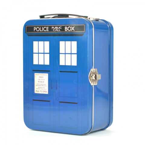 Tardis Lunch Tin Tote (Dr Who)