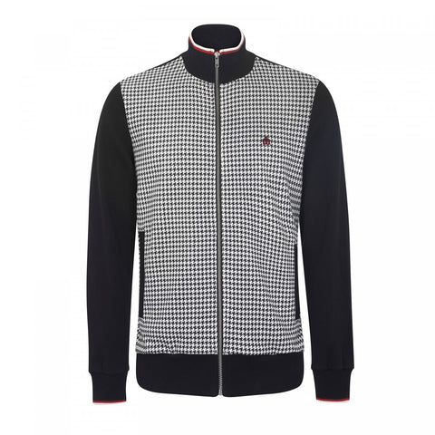Willow Dogtooth Zip Jacket - Merc