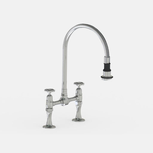 Steam Valve Kitchen Mixer Tap with Detachable Swivel Spout - 1015BS