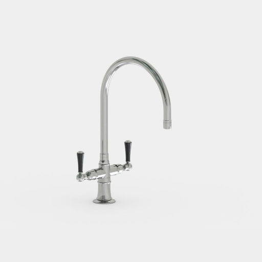 Steam Valve Dual lever Mono Kitchen Mixer with Swivel Spout - 1021