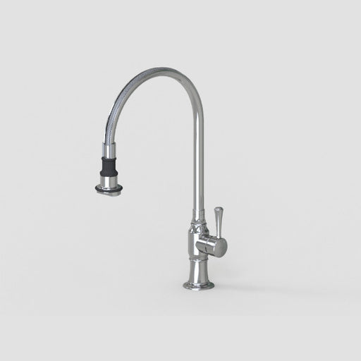 Steam Valve - Single Lever Mixer with Removable Spray - 1072BS Kitchen Tap