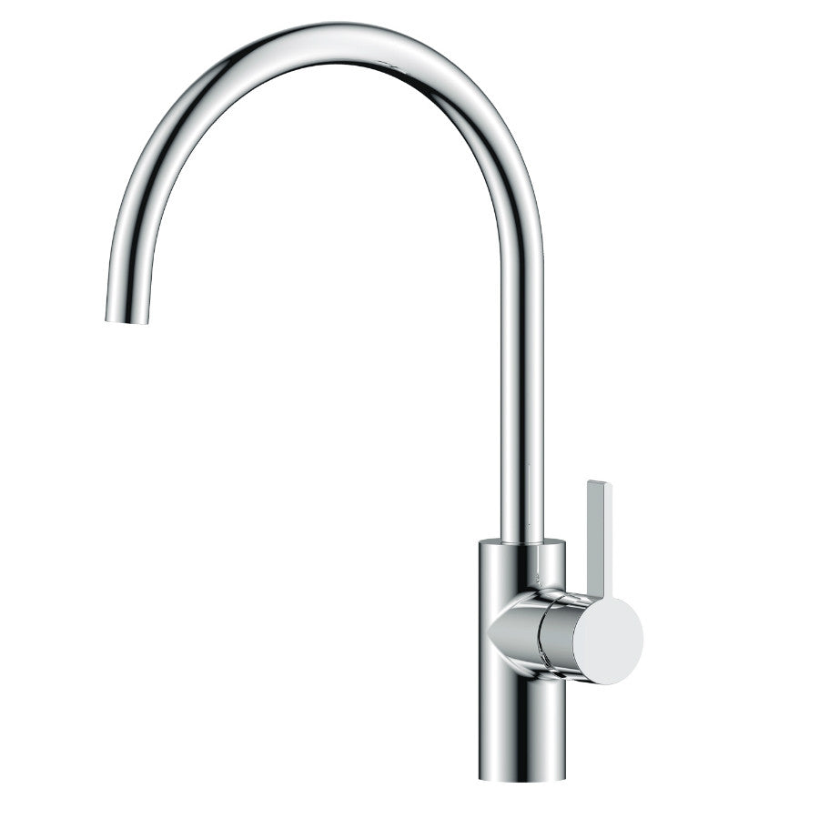 Just Taps Chrome Single Lever Kitchen Mixer Tap X181