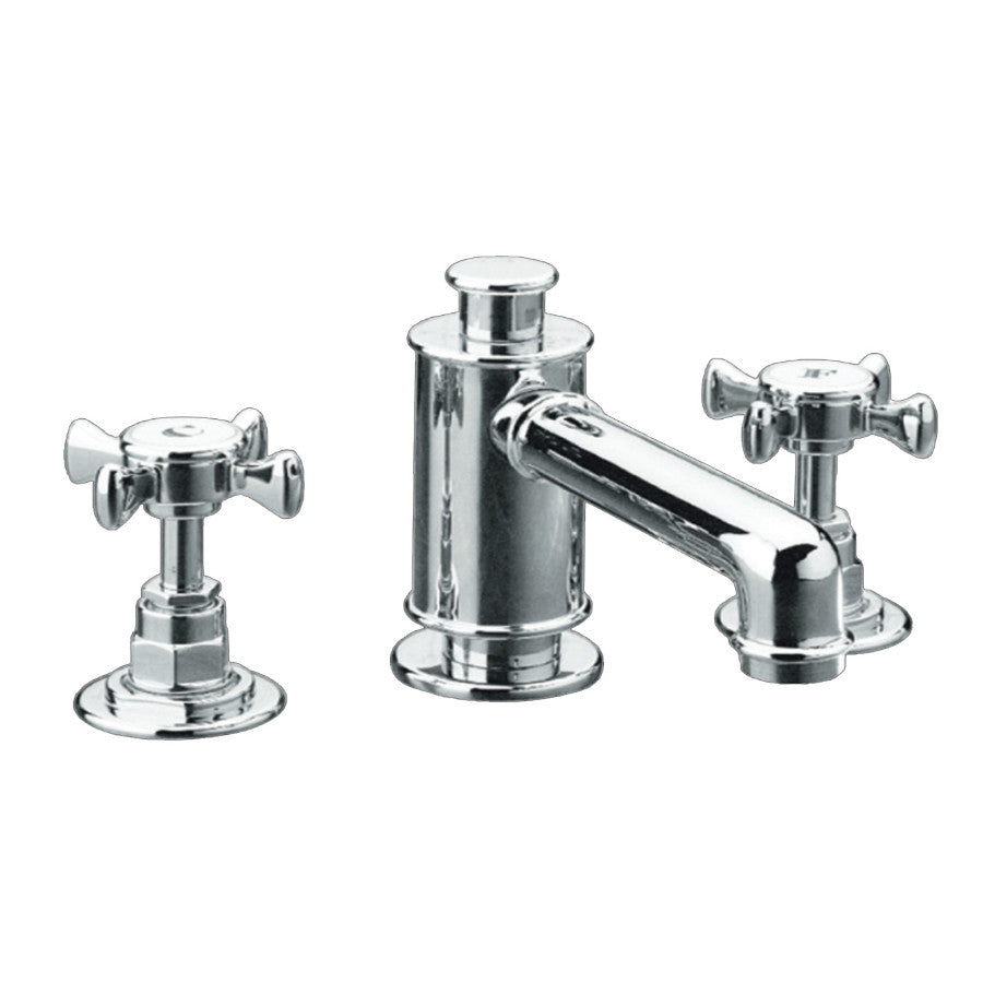 Just Taps Victoria Chrome 3 Hole Basin Mixer Tap  photo V25001