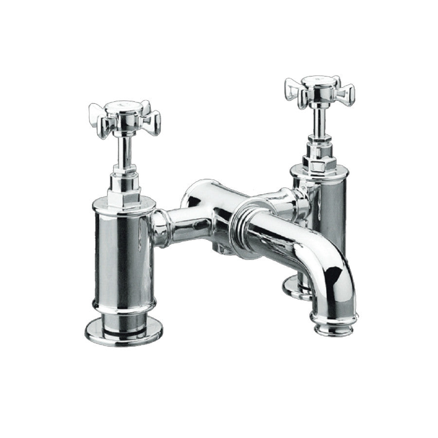 Just Taps Victoria Deck Mounted Bath Filler Tap V25025 photo with a white background